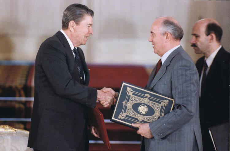 Reagan, Gorbachev